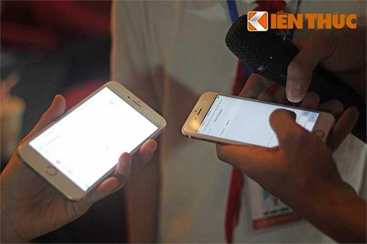 Anh Nguyễn Đức Thuận (nhân viên tư vấn kiến trúc) cho biết: 'Camera của iPhone mới cho hình ảnh rất tốt, kể cả điều kiện thiếu sáng. Ngoài ra, trải nghiệm game trên sản phẩm khá mượt. Tuy nhiên, tôi khá phân vân vì hiện tại đang dùng iPhone 6 Plus và giá iPhone mới khá 'chát'. Theo Techone, giá iPhone 6S/6S Plus sẽ nhanh chóng giảm, gần nhất là vào ngày mai.