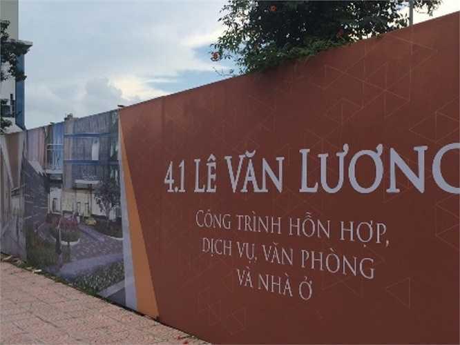 Trục đường Lê Văn Lương được coi là nơi bất động sản sôi động bậc nhất hiện nay khi hàng loạt dự án đất vàng tại đây đang tái khởi động trở lại sau một thời gian dài 'đắp chiếu'.