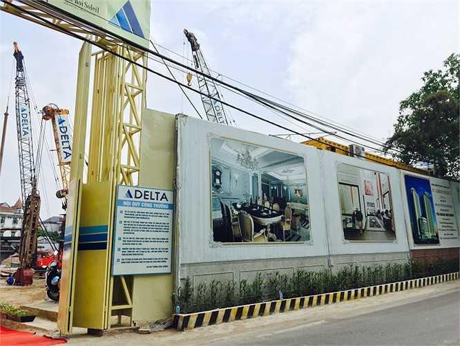 Tại Quảng An (Hà Nội), dự án D.' Le Roi Soleil – Quảng An của Tập đoàn Tân Hoàng Minh cũng đã khởi động lại từ hồi tháng 7/2015.
