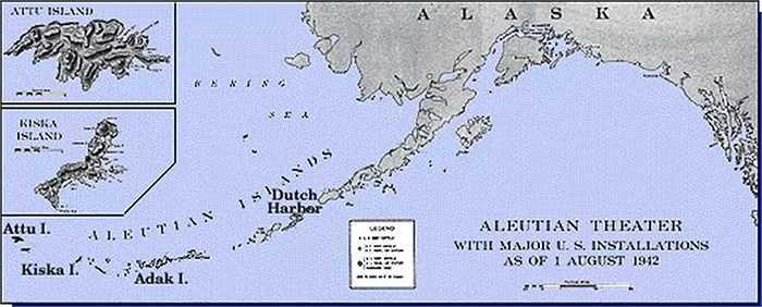 Nhật Bản từng khẳng định một phần đất đai ở Alaska thuộc sở hữu của mình sau trận chiến ở vùng đảo Aleutian. Điều này 'động chạm' đến Mỹ và họ đã phải tốn rất nhiều xương máu để giành lại khuc vực này