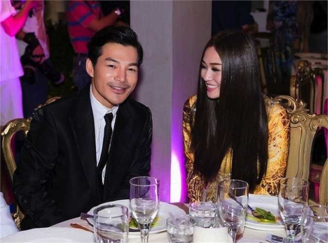 Sau khi ly hôn, Trần Bảo Sơn cũng bị cho là có quan hệ tình cảm với người đẹp Khánh My.