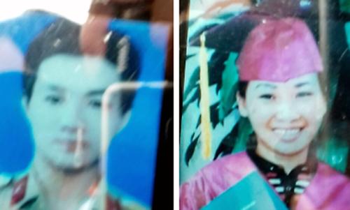 Di ảnh anh Đỗ Hoàng Bình và chị Phạm Thị Mỹ Hạnh.
