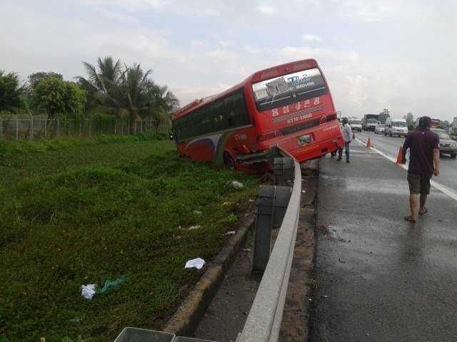 Hiện trường vụ tai nạn (Ảnh: Dân Việt)
