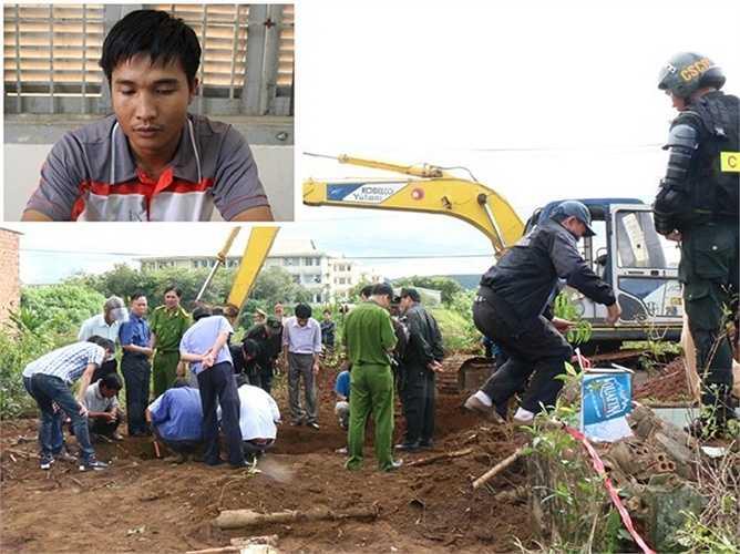 Liên quan đến vụ việc, CA tỉnh Lâm Đồng cho biết đã lần ra manh mối vụ sát hại vợ chồng anh Bình do trong quá trình điều tra vụ giết người cướp taxi, nghi can Kiều Quốc Huy liên tục khai thủ phạm là anh Đỗ Hoàng Bình- người được cho là đã mất tích 3 năm trước. (Ảnh: Trùng Dương- LV)