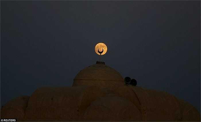 Hình ảnh trên bầu trời Cairo, Ai Cập