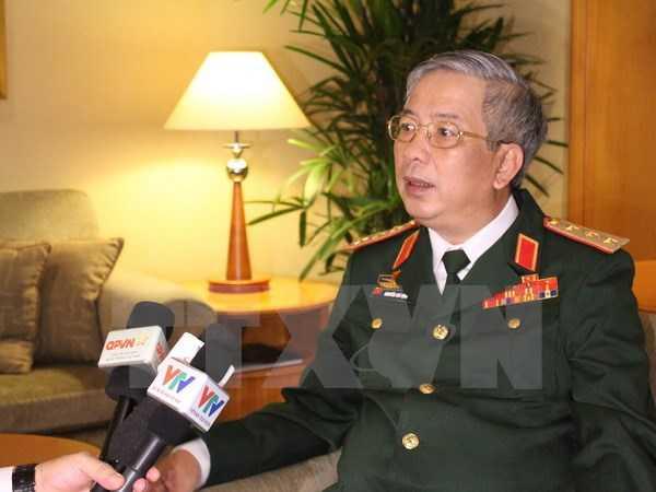 Thượng tướng Nguyễn Chí Vịnh, Thứ trưởng Bộ Quốc phòng - Ảnh: TTXVN