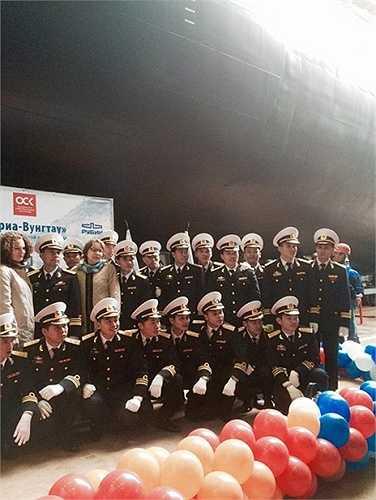 Sĩ quan và thuỷ thủ tàu ngầm 187 Bà Rịa - Vũng Tàu.