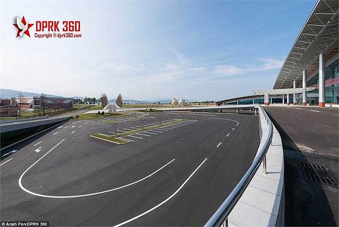 Quang cảnh sân bay quốc tế mới của Triều Tiên