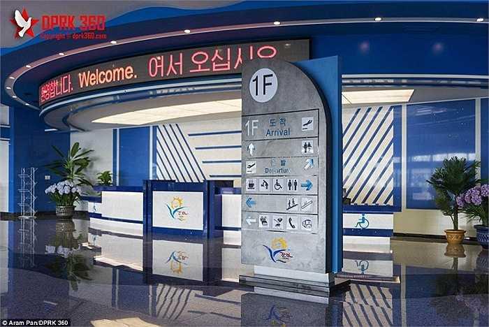 Sân bay sẽ chính thức mở cửa vào tháng 10 năm nay và dự kiến phục vụ 2.000 hành khách mỗi ngày