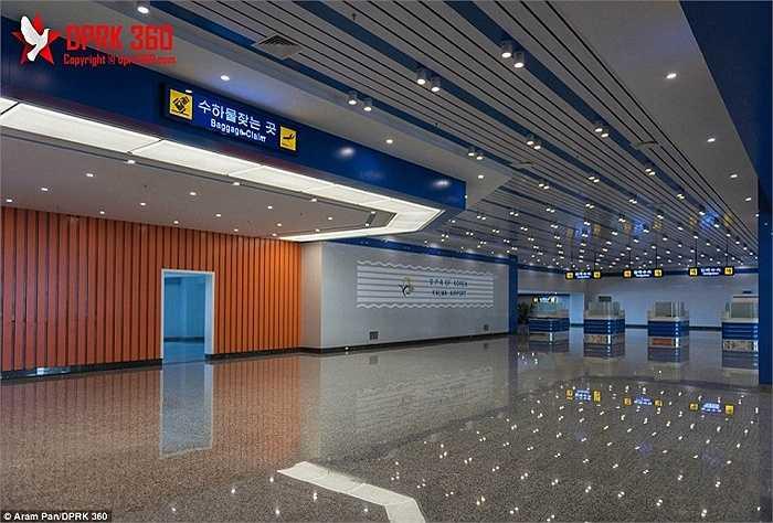 Sân bay Kalma là sân bay lớn thứ hai ở Triều Tiên với tổng chi phí xây dựng khoảng 200 triệu USD, theo NK News