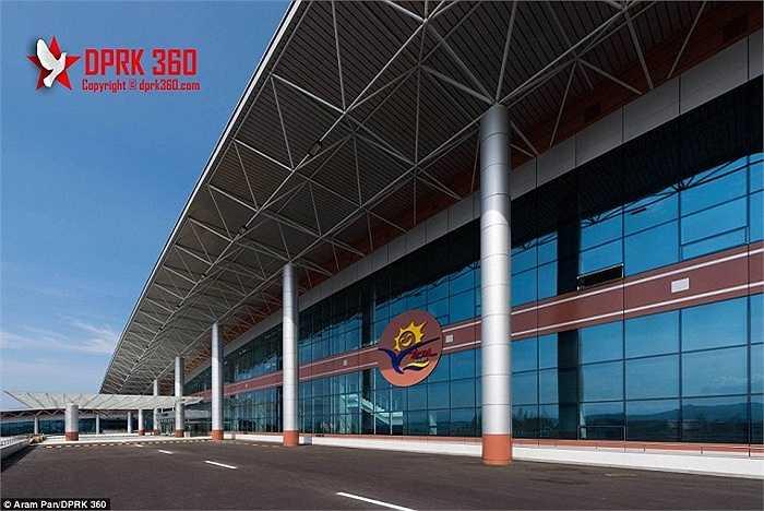 Sân bay Kalma nằm ở thành phố cảng Wosan, phía Đông thủ đô Bình Nhưỡng