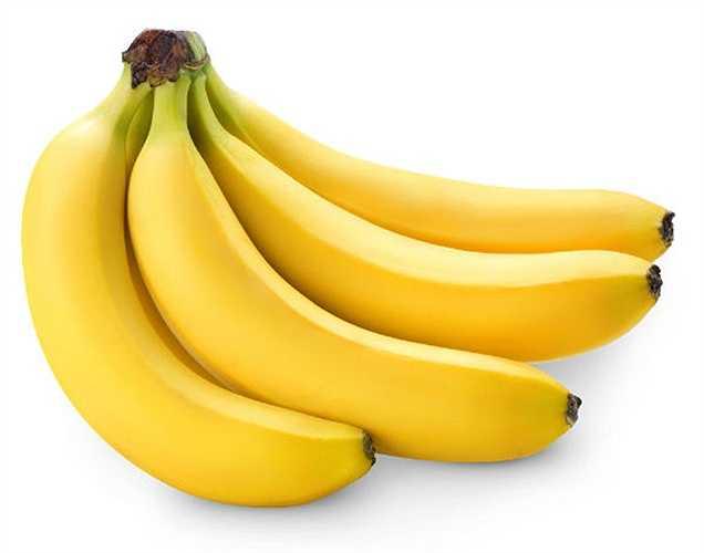 Chuối: Có một số loại trái cây cũng cung cấp cho cơ thể của bạn nguồn giàu kali. Các thực phẩm như chuối, bơ và nước cam là một trong số thực phẩm nên tiêu thụ khi huyết áp cao.