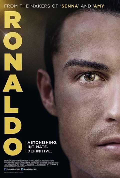 Poster của bộ phim về Ronaldo