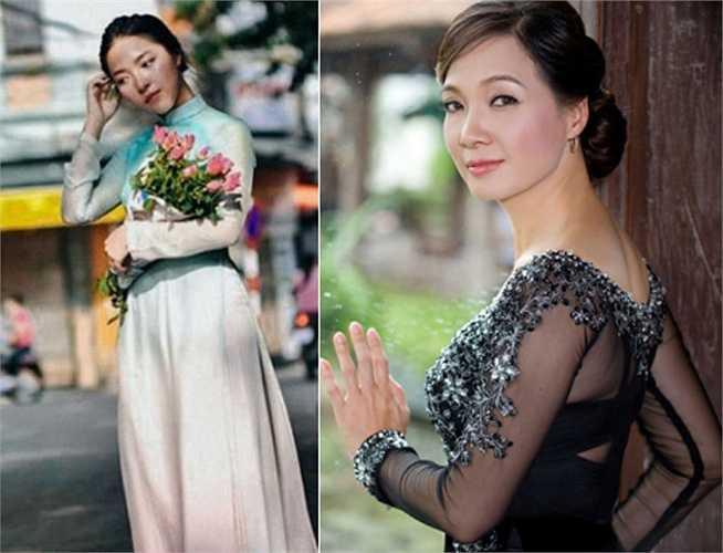 Phạm Lam Khê - con gái của NSND Lê Khanh sở hữu một vẻ đẹp lạ rất ấn tượng.