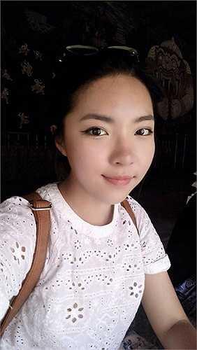 Hình ảnh đời thường trong sáng của Lam Khê.