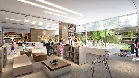 Thư viện cộng đồng, dành riêng cho cư dân