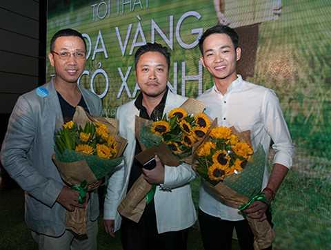 Đây là sự kiện ra mắt bộ phim đình đám cho Victor Vũ làm đạo diễn.