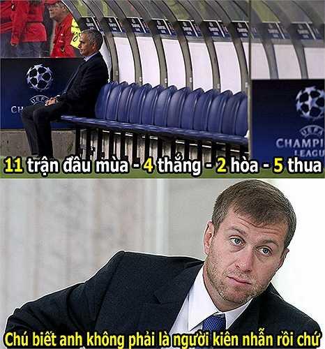 Mourinho rất dễ bị Roman Abramovich sa thải