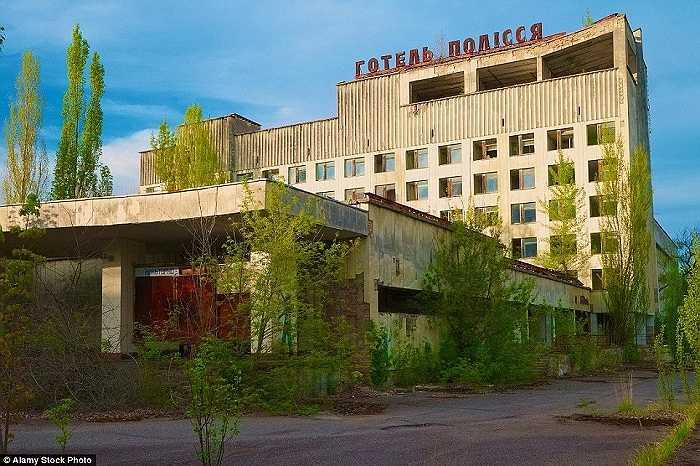 Thị trấn bị bỏ hoang từ tháng 4/1986 sau thảm họa hạt nhân Chernobyl lịch sử