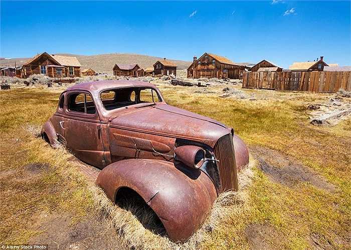 Thị trấn miền tây hoang dã này là nơi sinh sống của rất ít cư dân và được gọi là công viên lịch sử sau khi bị bỏ hoang năm 1962