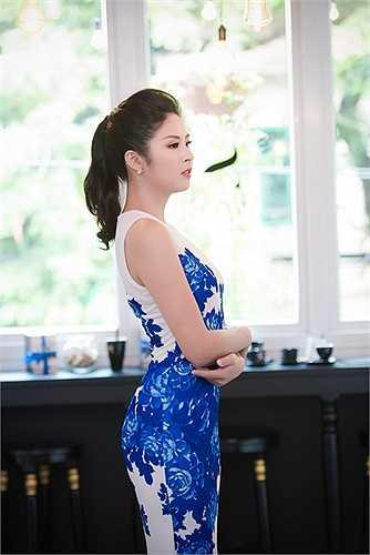 Người đẹp vẫn đang ấp ủ nhiều dự định để phát triển thời trang trong thời gian tới.