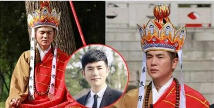 Nhân vật Đường Tăng do Trương Hiểu Long thể hiện trong Văn học anh hùng được khán giả yêu mến nhờ vẻ ngoài khá thư sinh.