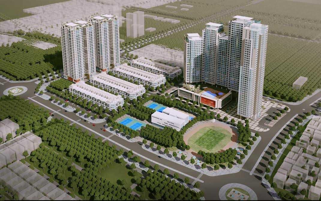 Phối cảnh siêu dự án Mon City