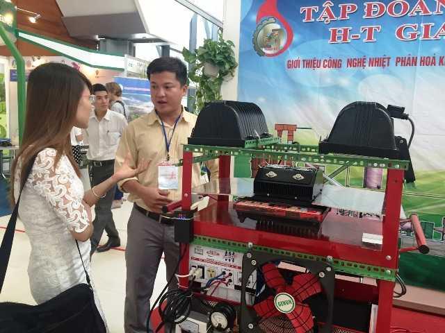 Mô hình máy phát điện từ nhiệt giá thành rẻ đã có mặt tại Việt Nam.