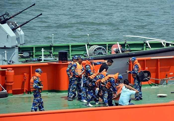 Toàn bộ các đối tượng chống đối đều bị lực lượng Cảnh sát biển Việt Nam khống chế thành công.