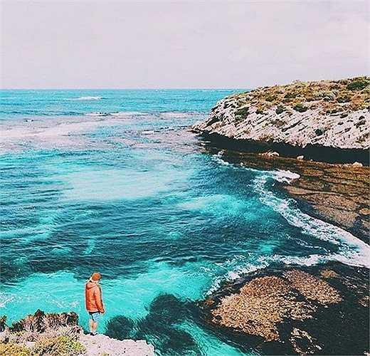 Cách 19km ngoài khơi bờ biển Fremantle, Đảo Rottnest không hề có xe hơi và khí hậu Địa Trung Hải mát mẻ quanh năm.
