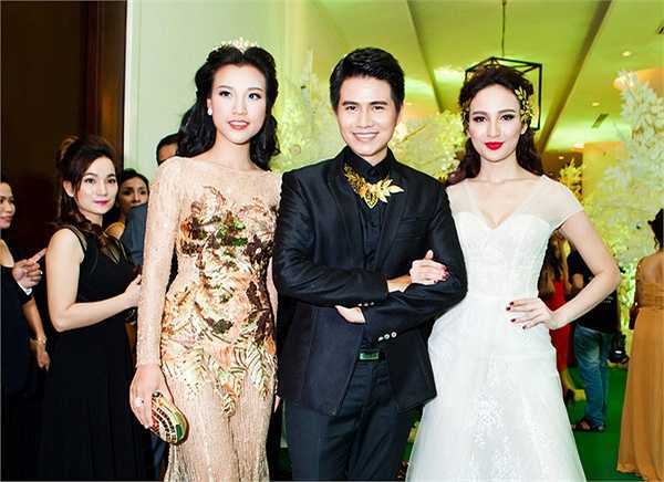 Á hậu Hoàng Oanh, Vũ Mạnh Cường và Hoa hậu Ngọc Diễm