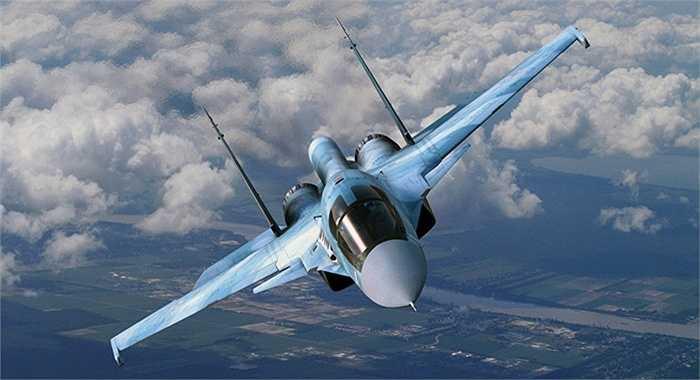 Trang bị của Su-34 là các loại bom thông minh, tên lửa đối không, đối đất, chống hạm