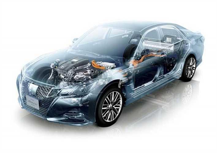 Ngoài ra, với thế hệ 2016, Toyota Crown còn có thêm phiên bản động cơ xăng 2.0l, 4 xi-lanh thẳng hàng tăng áp mới.
