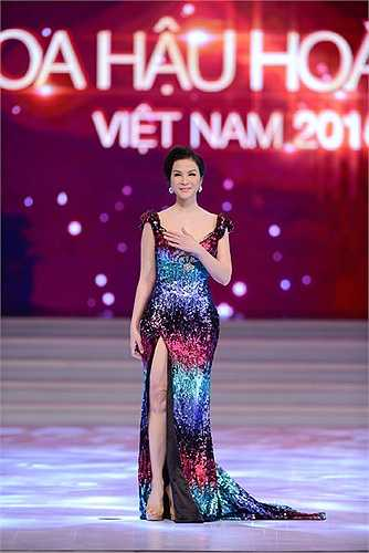 Á hậu điện ảnh Thanh Mai trong vai trò giám khảo.
