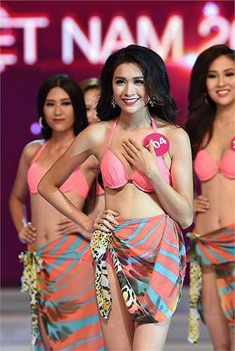 Lệ Hằng là một trong những thí sinh sở hữu gương mặt đẹp nhất cuộc thi năm nay.