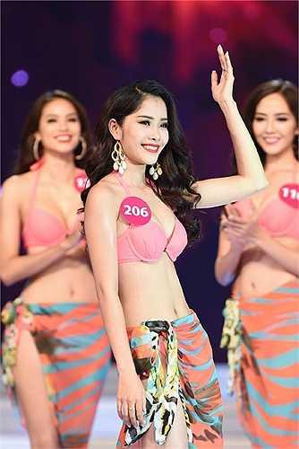 Nguyễn Thị Lệ Nam Em được đánh giá cao trước cuộc thi.