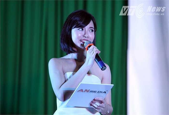 'Cảm giác của tôi rất hồi hộp, nhưng cũng rất phấn khích...' - Tú Linh nói.