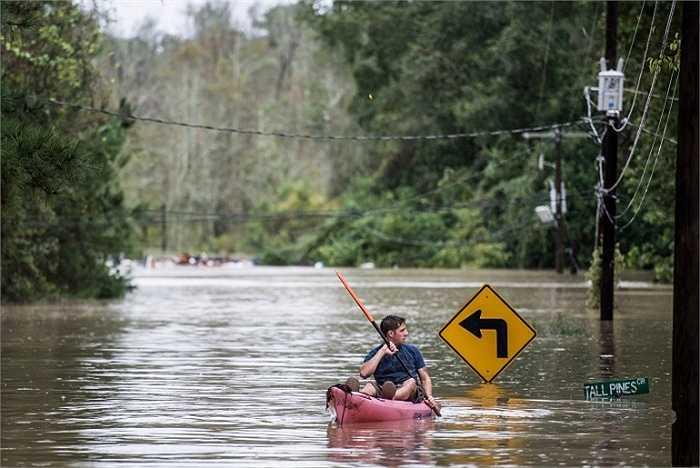Phát biểu trong cuộc họp báo, Thống đốc bang South Carolina, Nikki Haley cho biết đây là trận mưa bão nghiêm trọng nhất lịch sử 1.000 năm qua ở bang này