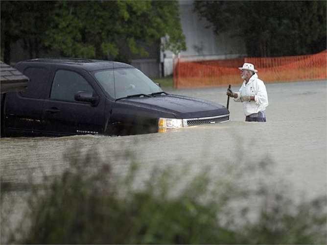 Cảnh tượng ngập lụt ở Florence, South Carolina