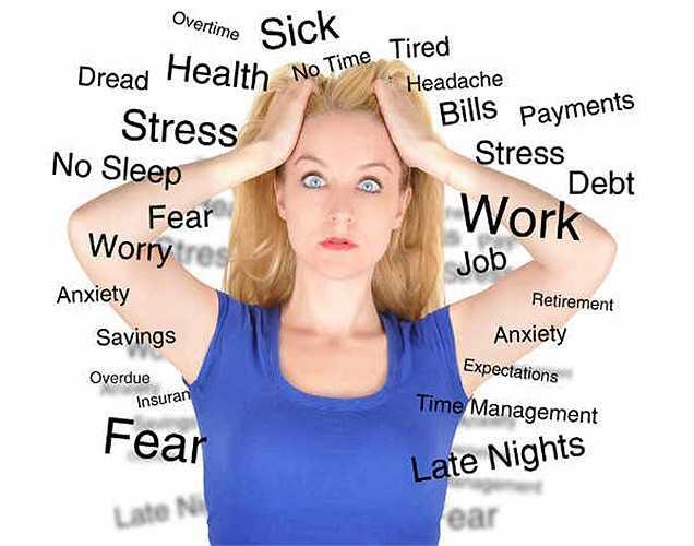 7. Các yếu tố rõ ràng nhất ảnh hưởng đến tâm trạng của bạn là căng thẳng. Khi bạn căng thẳng, bạn không thể cảm thấy hạnh phúc.