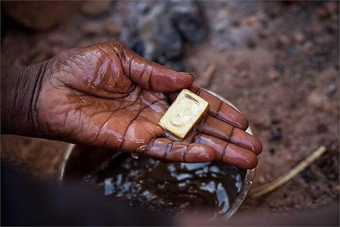 Một đại lý vàng trong nước ở Bani cho hay: 'Tôi biết nhiều nhóm các thợ khai thác vàng trong 22 năm qua, họ không giàu nhưng cũng có một cuộc sống đàng hoàng'.