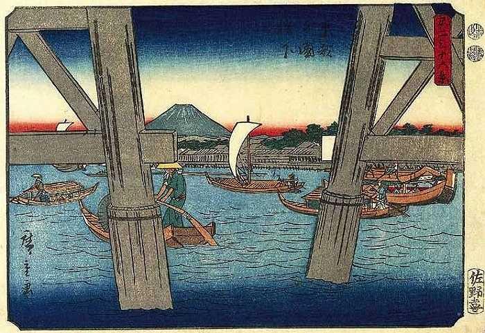 Hình ảnh núi Phú Sĩ cùng những cảnh đẹp yên bình nơi đây đã trở thành nguồn cảm hứng cho các nghệ sĩ khắc gỗ