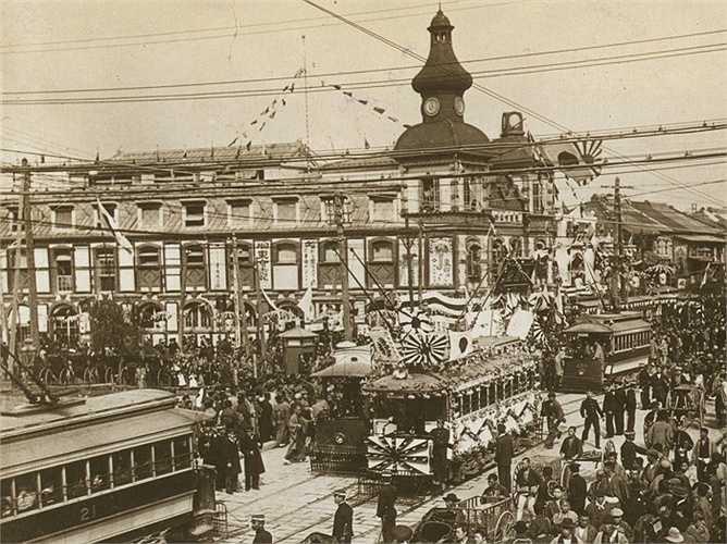 Đến năm 1905, thành phố Tokyo đã xong quá trình công nghiệp hóa