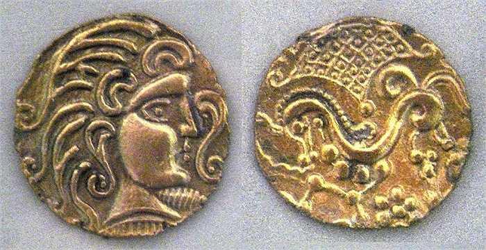 Những đồng tiền của người Parisii được lưu giữ tại Bảo tàng Nghệ thuật Metropolitan