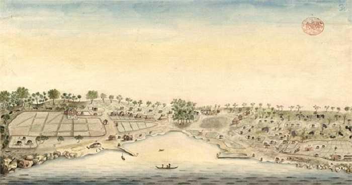 18.Sydney (Australia): Sydney được thành lập vào năm 1788. Đây là bức tranh vẽ Sydney năm 1792