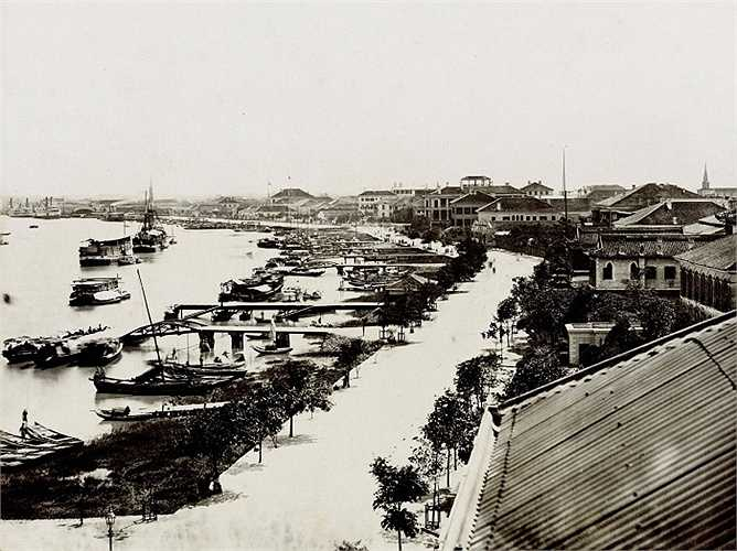 Thượng Hải (Trung Quốc): Nằm dọc theo sông Hoàng Phố ở trung tâm Thượng Hải, khu Ngoại Than đã trở thành một trung tâm tài chính toàn cầu vào cuối năm 1800