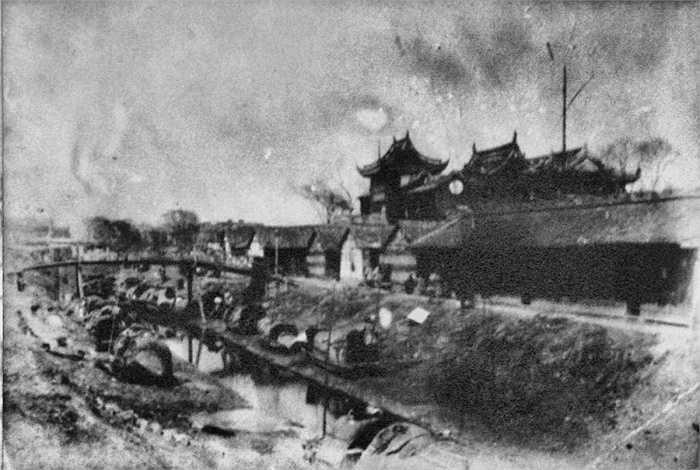 Hình ảnh thành phố Thượng Hải vào cuối những năm 1800