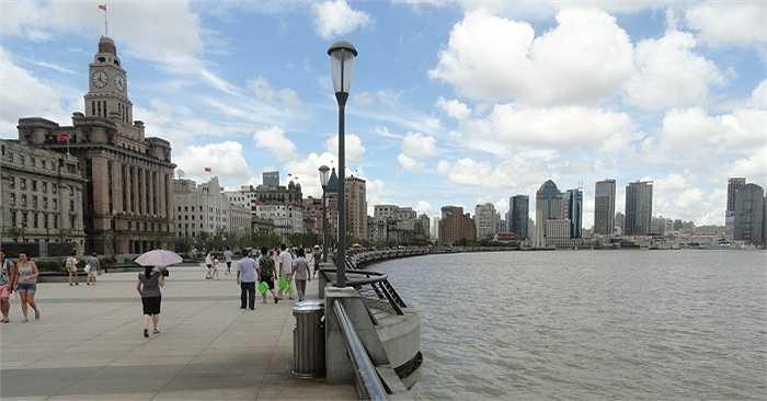 Giờ đây, Bến Thượng Hải trở thành một trong những điểm đến thu hút khách du lịch nhất ở Trung Quốc