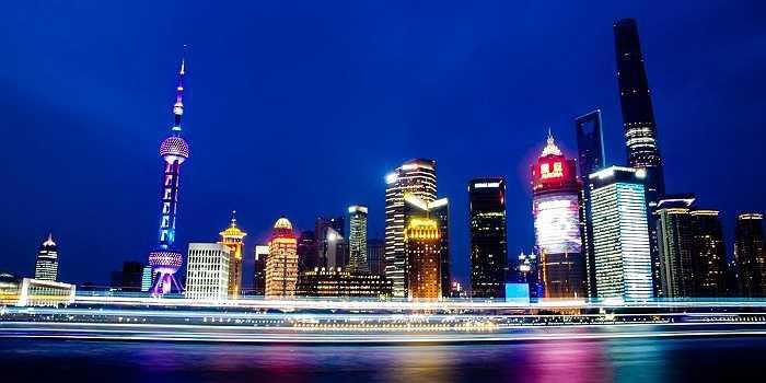 Một góc Phố Đông, Thượng Hải ngày nay