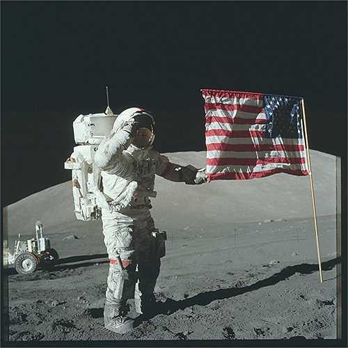 Chương trình Apollo là dự án không gian duy nhất trong thế kỷ 20 đưa thành công con người lên Mặt Trăng. (Nguồn: Sputniknews)